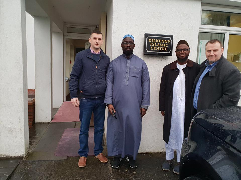 KILKENNY MOSQUE GATHERS POLITICAL SUPPORT.                                                               by Michael McGrath