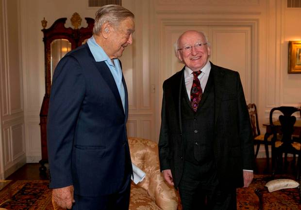 higgins and soros